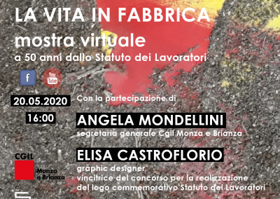 Walmer Bordon. La vita in fabbrica – mostra virtuale