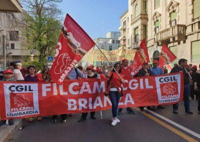 """Filcams Cgil Monza e Brianza: """"Presidio lavoratrici mense scolastiche"""""""