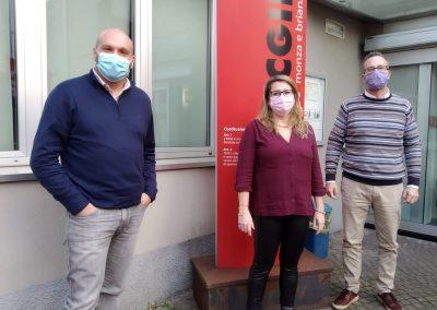 Cgil, Patronato Inca e Filcams potenziano i servizi sul territorio di Monza e della Brianza